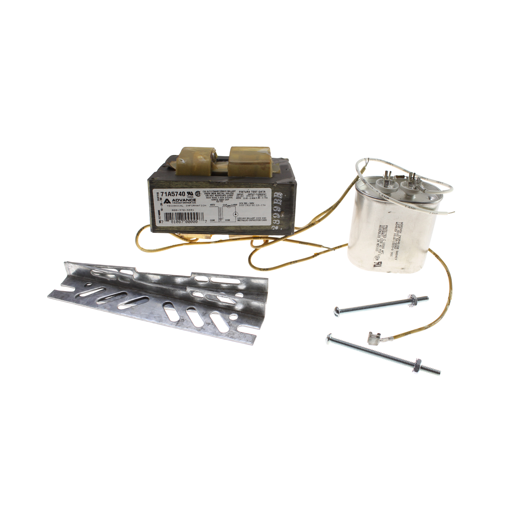 250w Metal Halide Ballast Kit Wiring 480 Volt Diagram