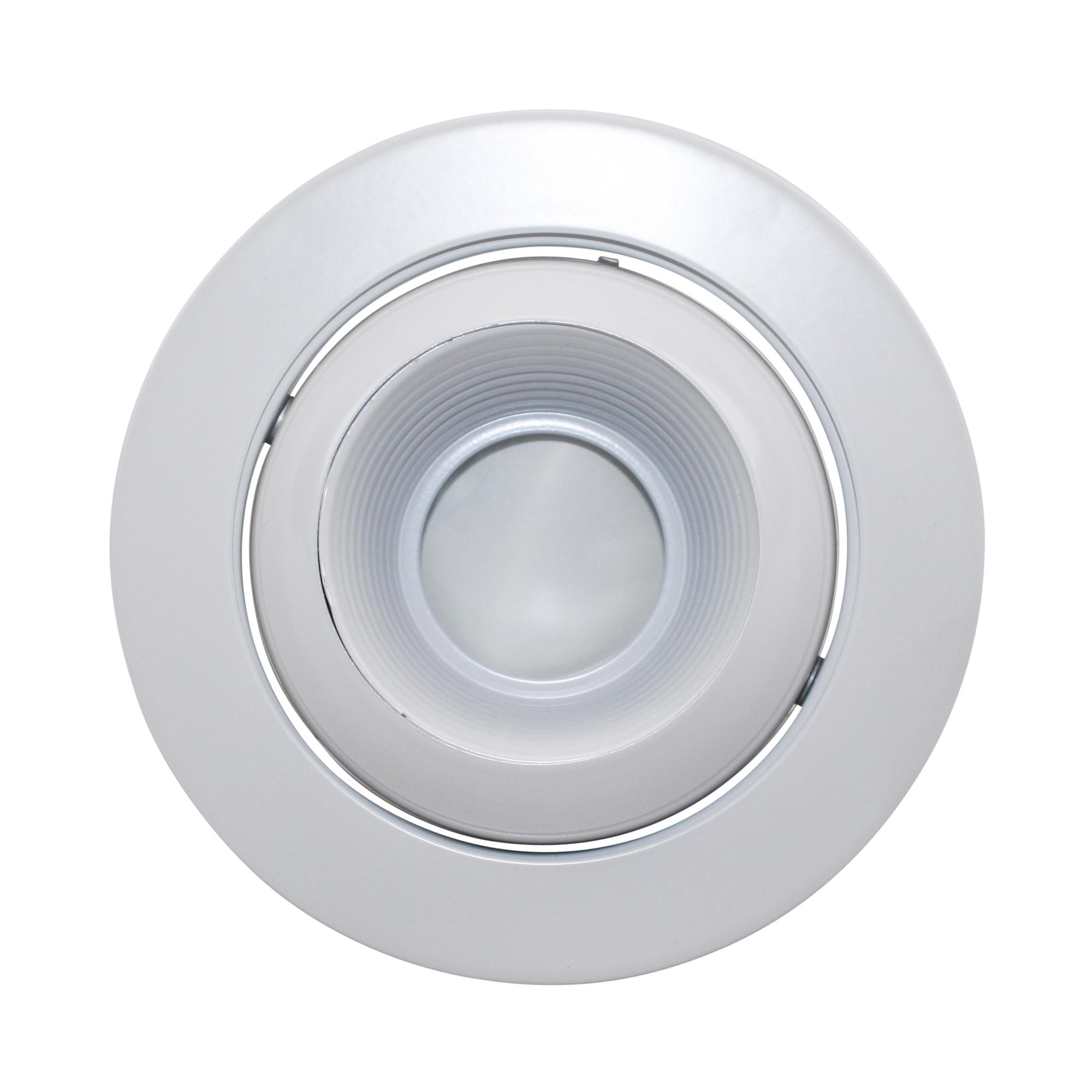 Capri lighting p4lew 4 adjustable eyeball trim low for Number of recessed lights per room