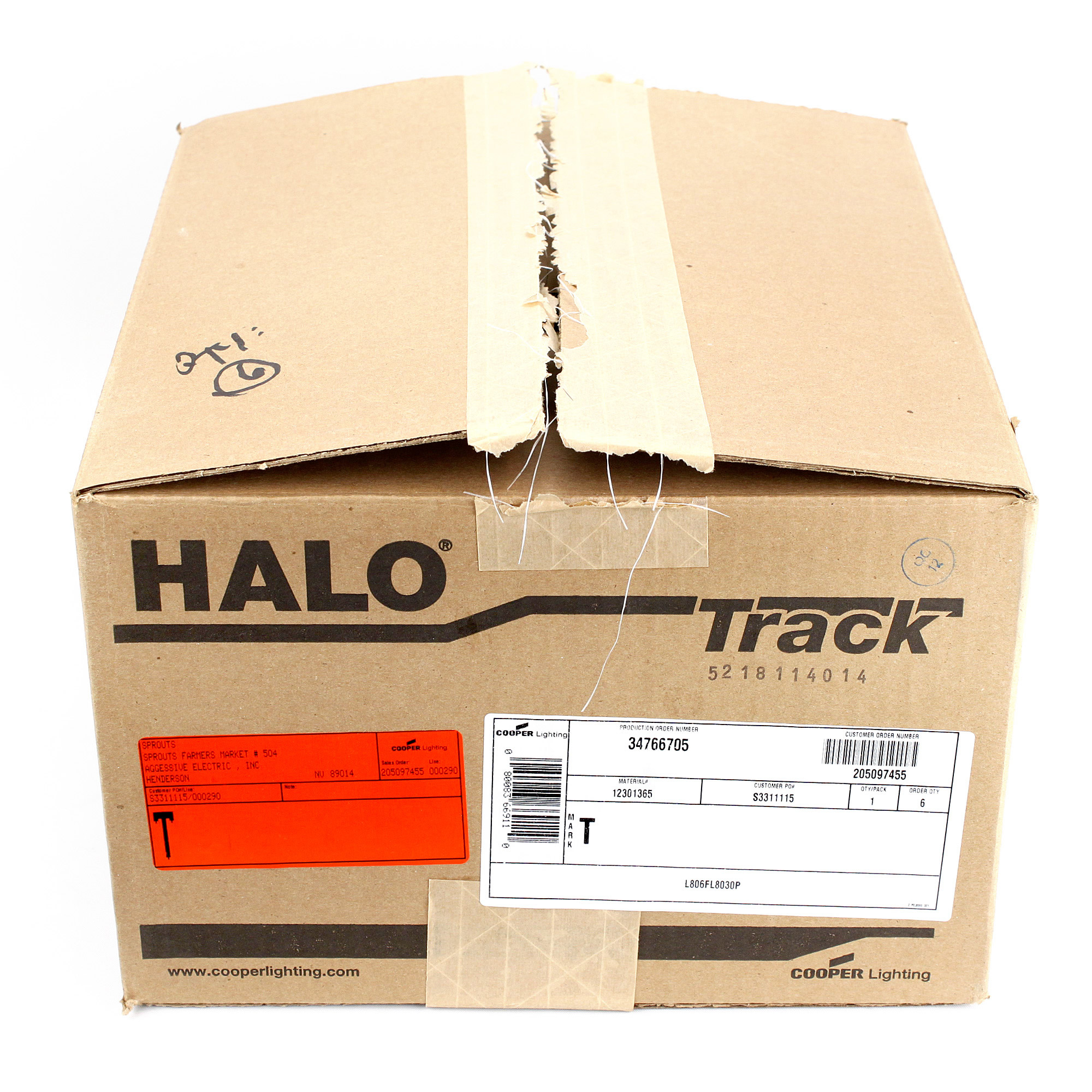 halo lighting l806fl8030p l806 led track head flood