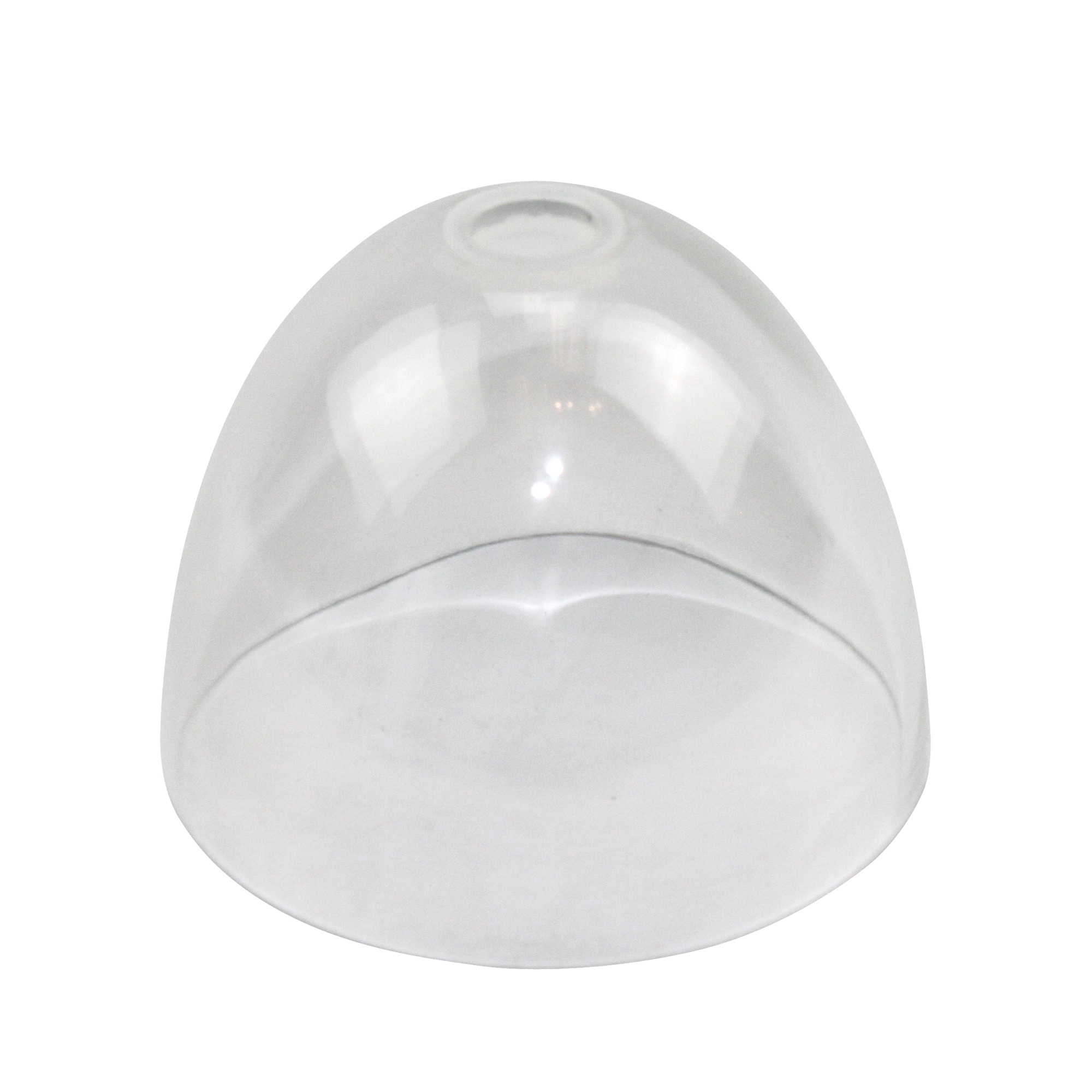 juno alfa g35 cl clear handblown glass cone shade. Black Bedroom Furniture Sets. Home Design Ideas