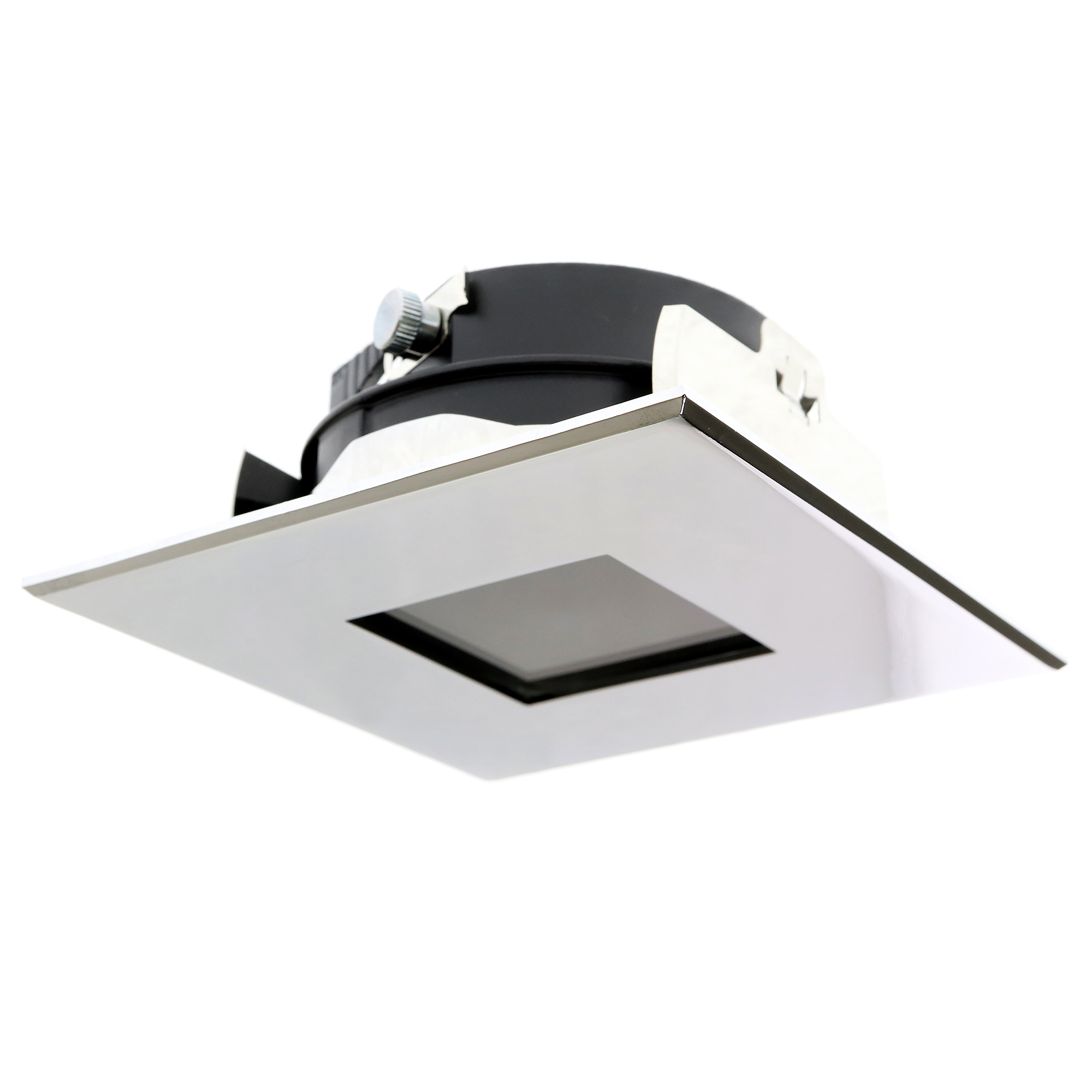 square recessed lighting fixtures  home design ideas and pictures - great lightolier cmx  lytepoints square chrome recessed lighting