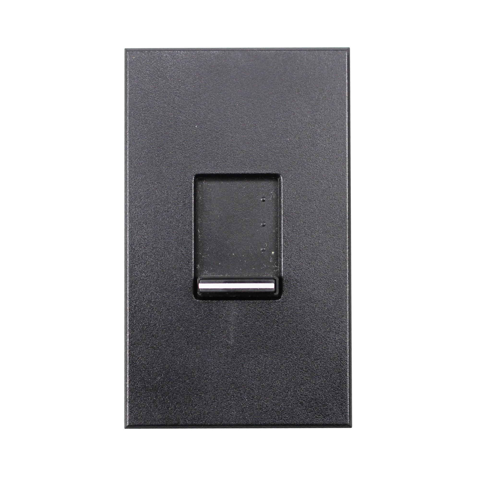 lutron nt s nfb bl nova t slide dimmer wall plate face plate black ebay. Black Bedroom Furniture Sets. Home Design Ideas
