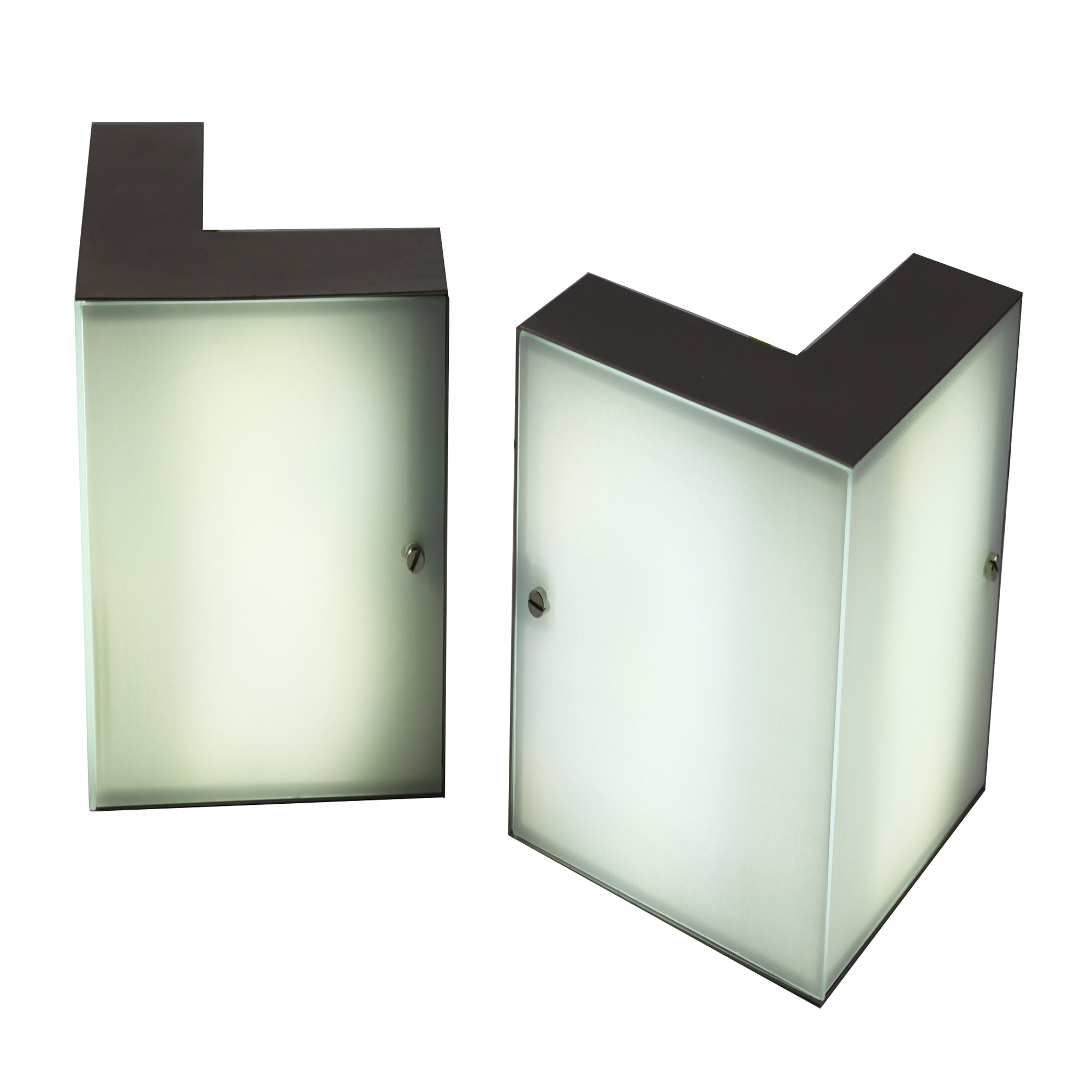 Corner Wall Mount Lamp : PROJECT LIGHT OHR-02 LED WALL MOUNT CORNER LIGHT MODERN FIXTURE eBay