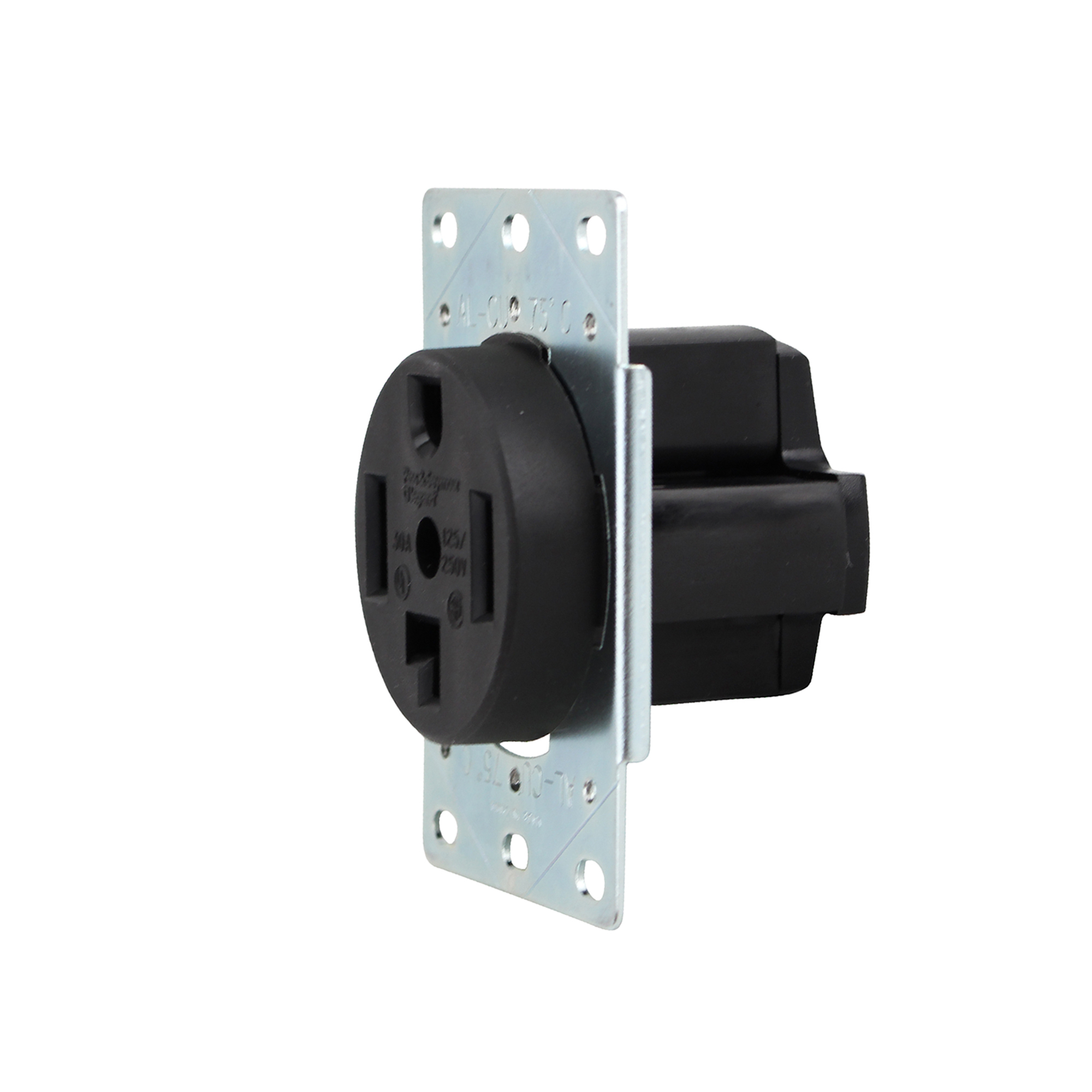 PASS & SEYMOUR 3864 30A DRYER RECEPTACLE NEMA 14-30R FLUSH ...