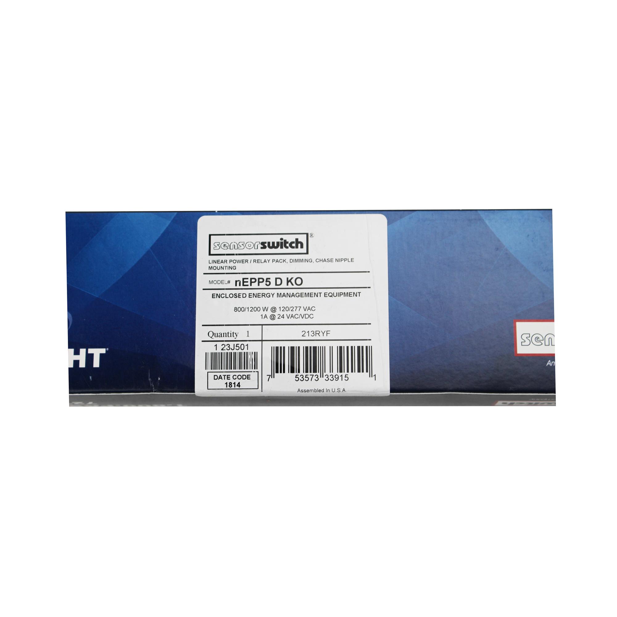 Sensor Switch Nepp5 D Ko Linear Power Relay Pack Dimming