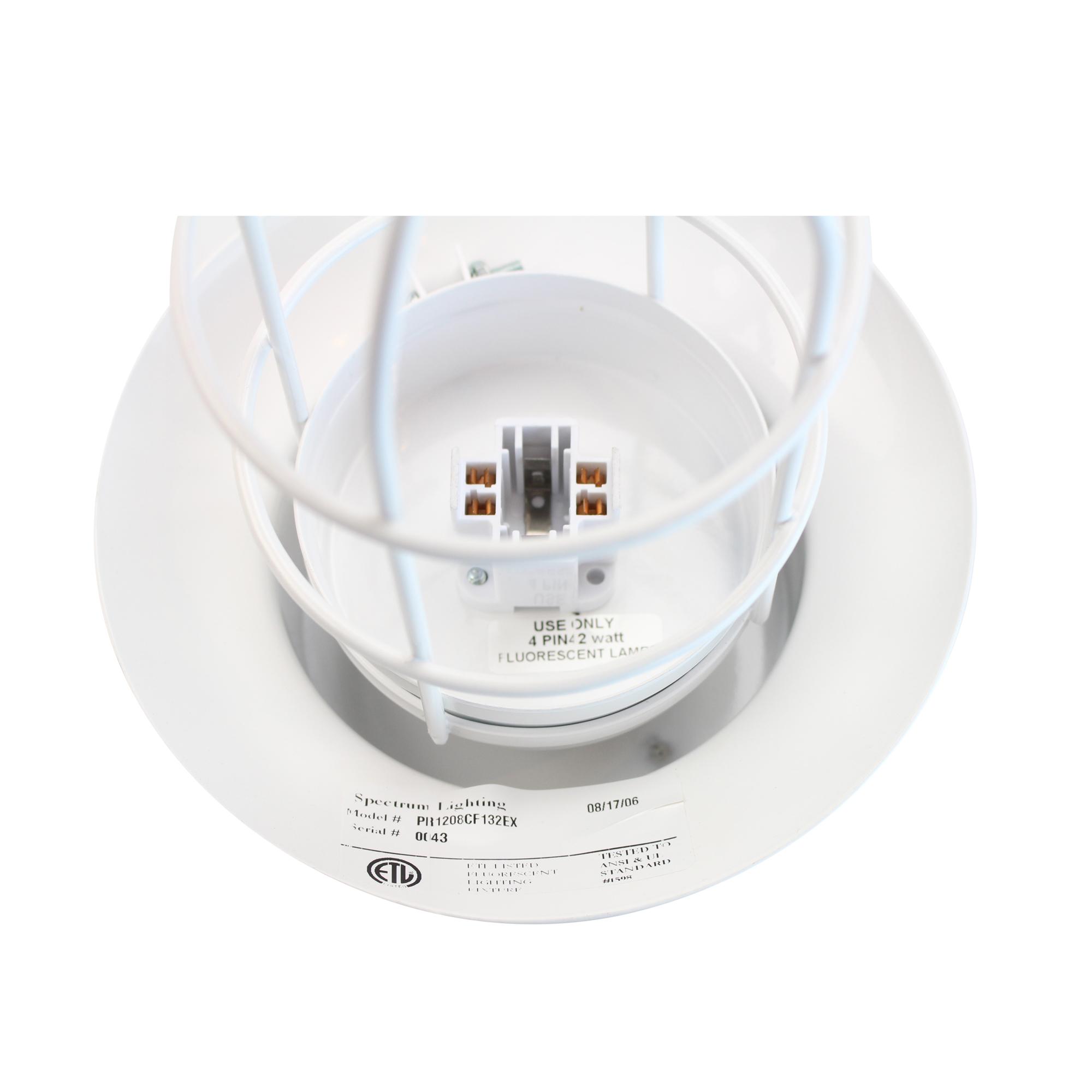 SPECTRUM LIGHTING PR1208 42W FLUORESCENT INDUSTRIAL