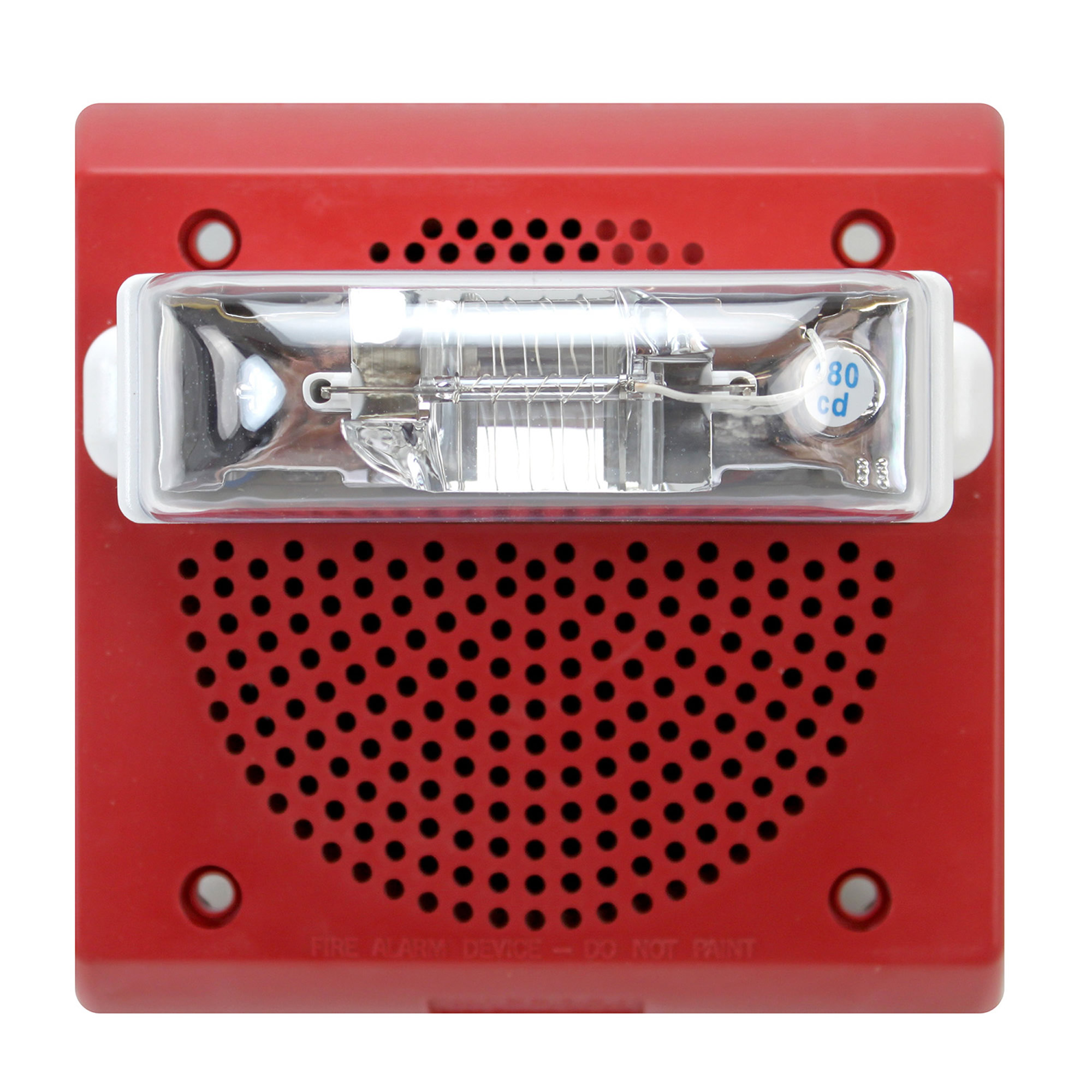 cooper wheelock et70wp 2475w fr wall fire alarm speaker ... fire alarm strobe wiring diagram
