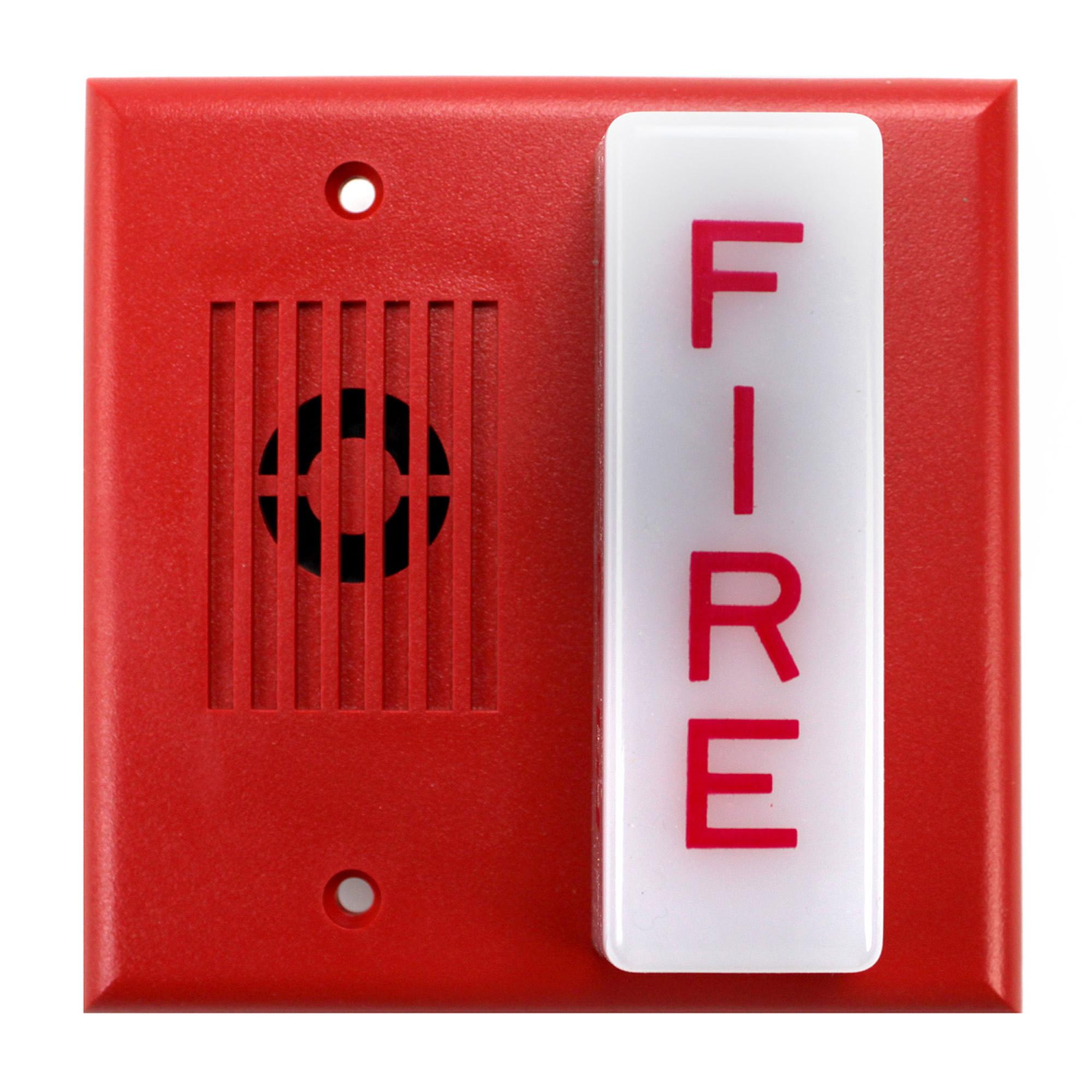 WHEELOCK MT-24-LSM-VFR HORN STROBE MULTITONE (RED) P/N ...  |Wheelock Fire Alarm Horn Strobe