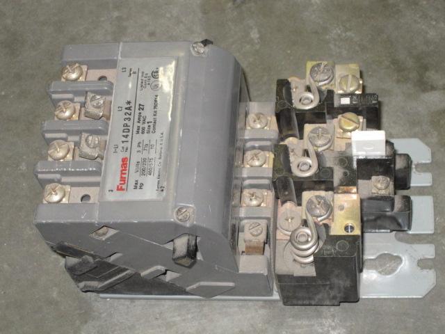 Furnas 14dp32a starter 48dc31aa3 relay 75d73070a coil ebay Furnas motor starter