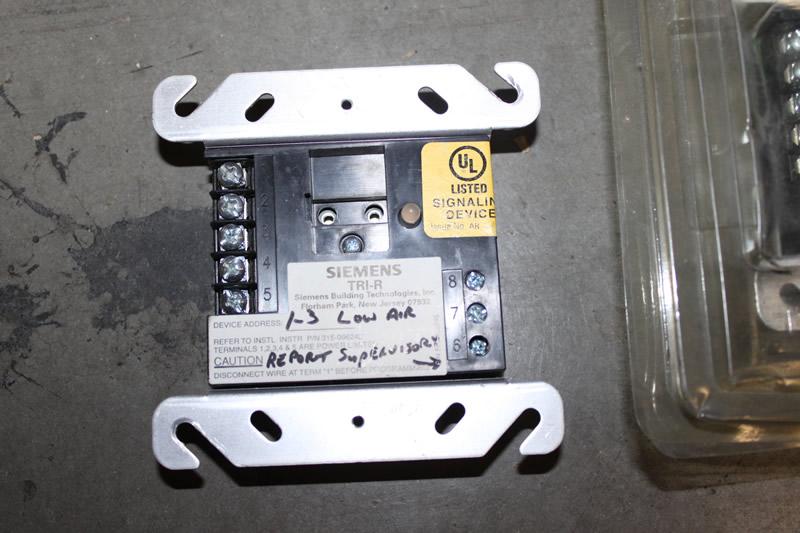 siemens tri r fire alarm relay module ebay