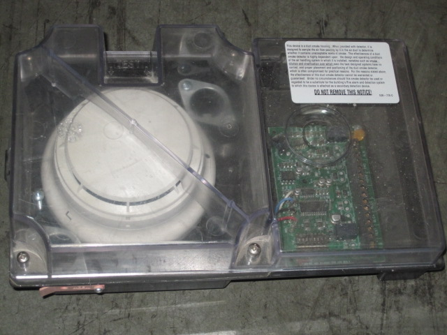 Simplex 4098 9756 Air Duct Smoke Detector Housing Ebay