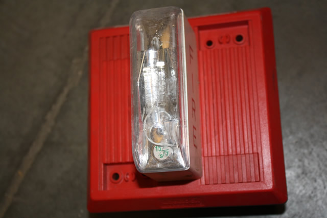 The Schumin Web » Wheelock 7002T-24  |Wheelock Fire Alarm Horn Strobe