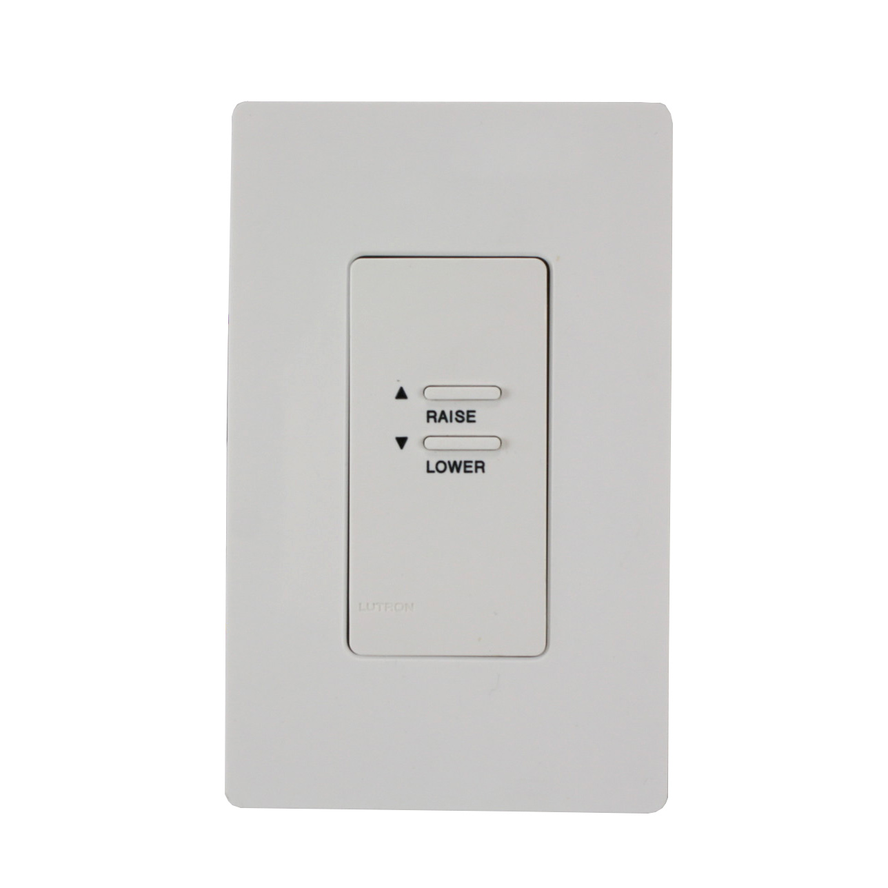 Low Voltage Keypad : Lutron wck b cc white window covering keypad for shade