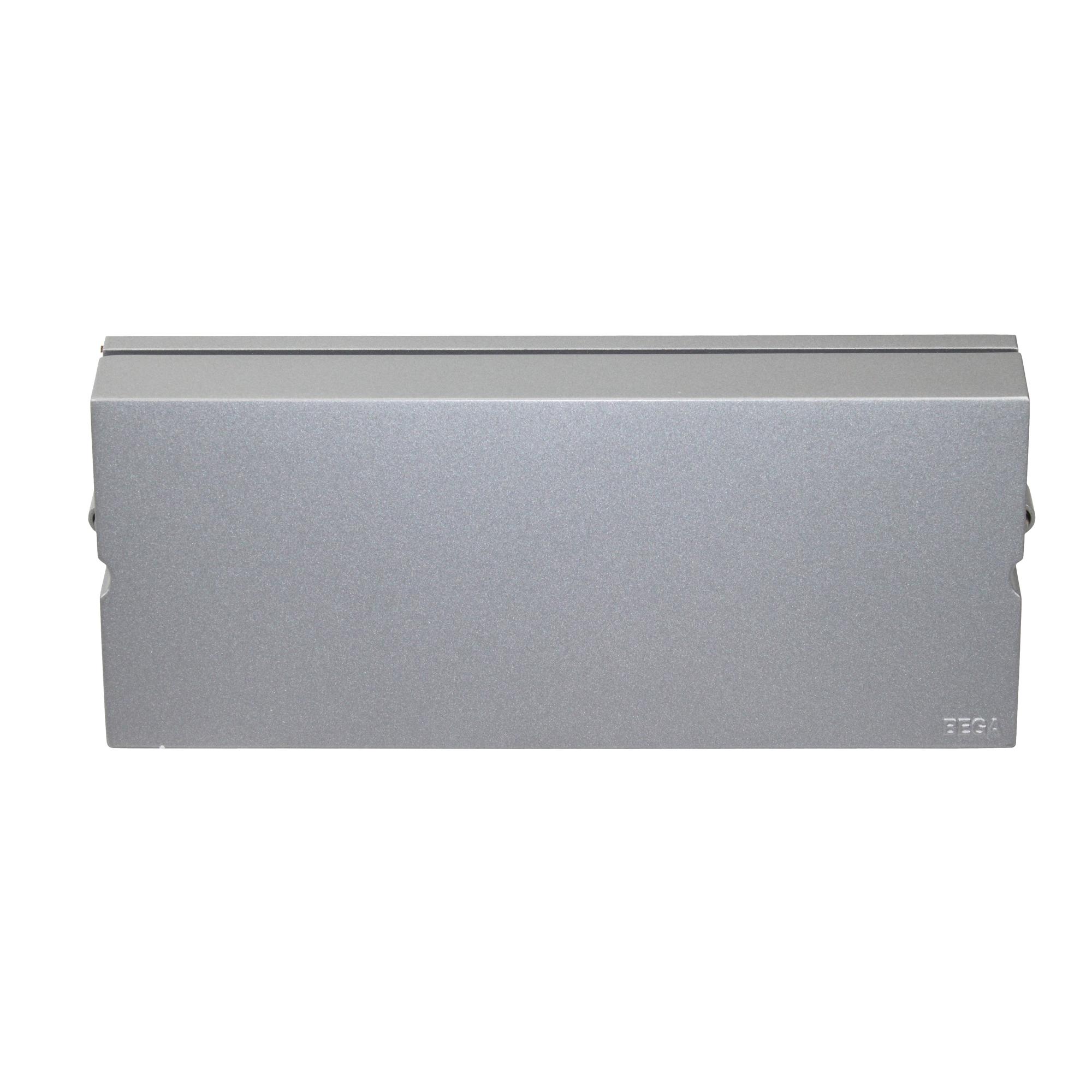 Bega 2294 Wall Luminair Sconce Light Fixture Aluminum F29 277v Silver