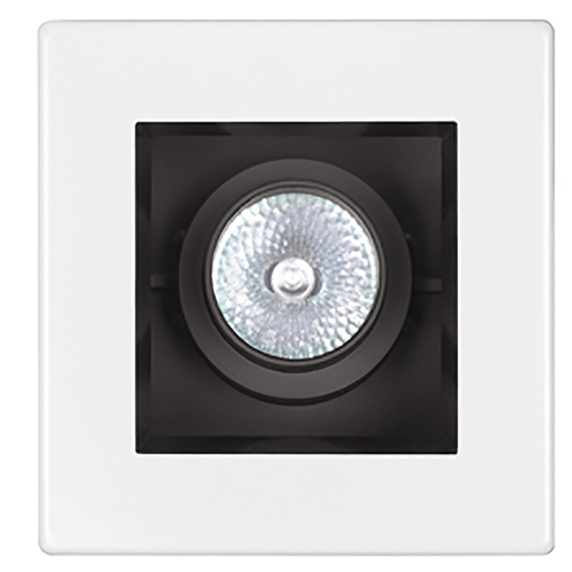 Details About Capri Lighting 4 Square Trim Lc134 Adjule Gimbal White Recessed