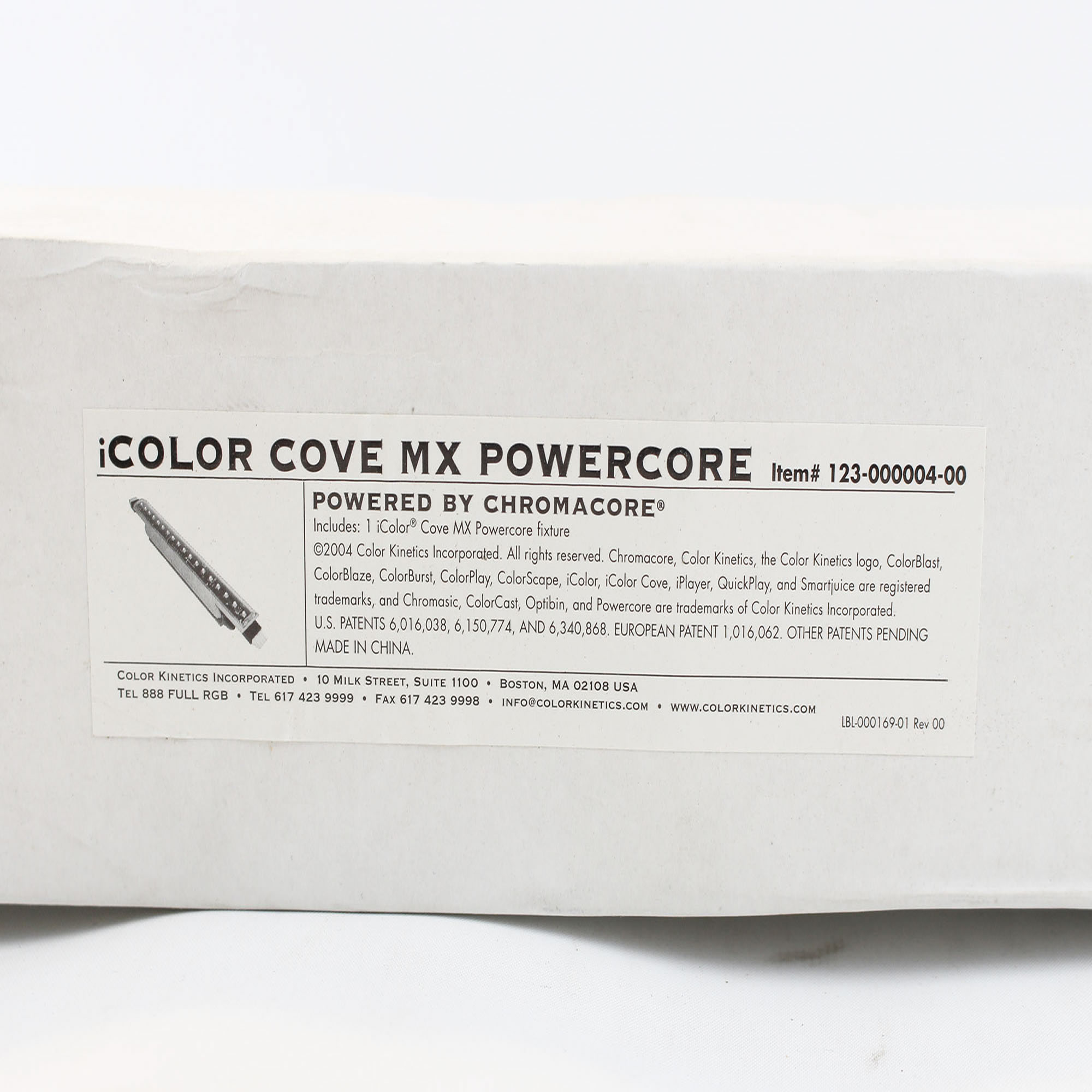 color kinetics incorporated