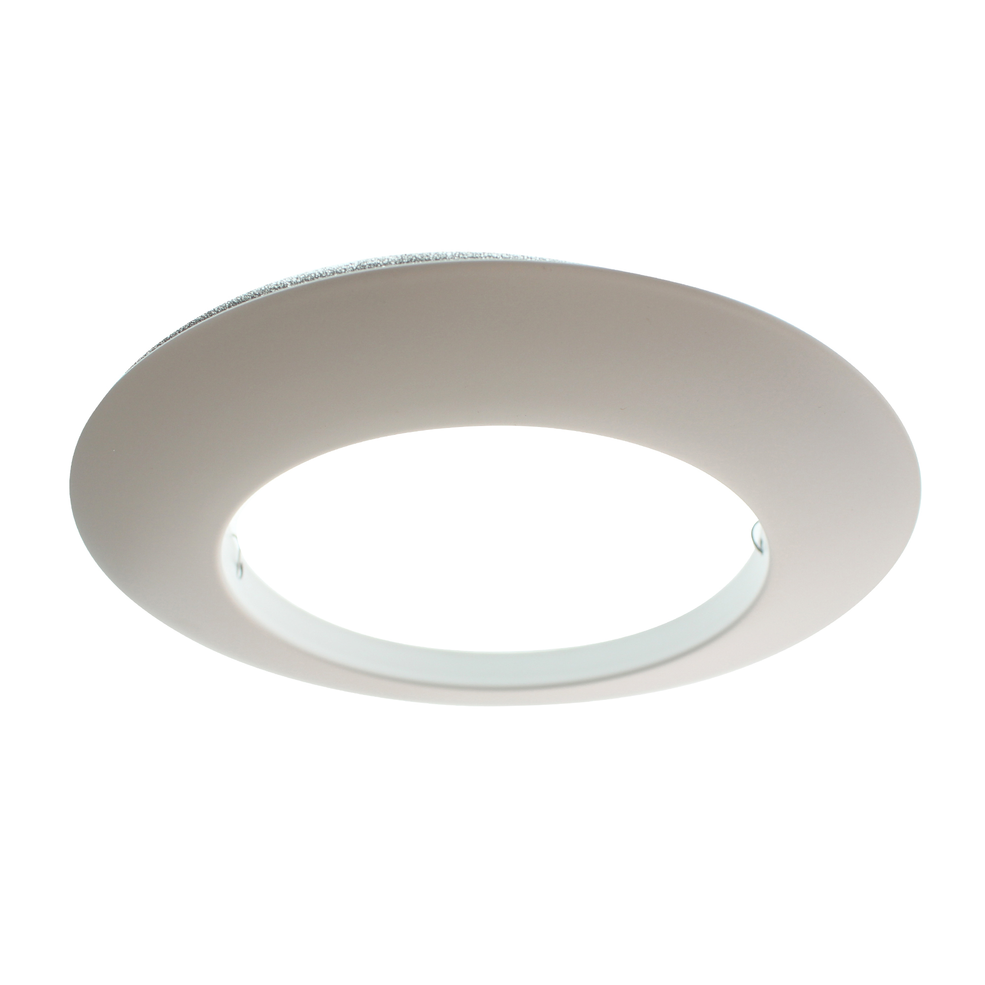 Details About Elco Lighting El40w Recessed Open Trim 6 Inch White