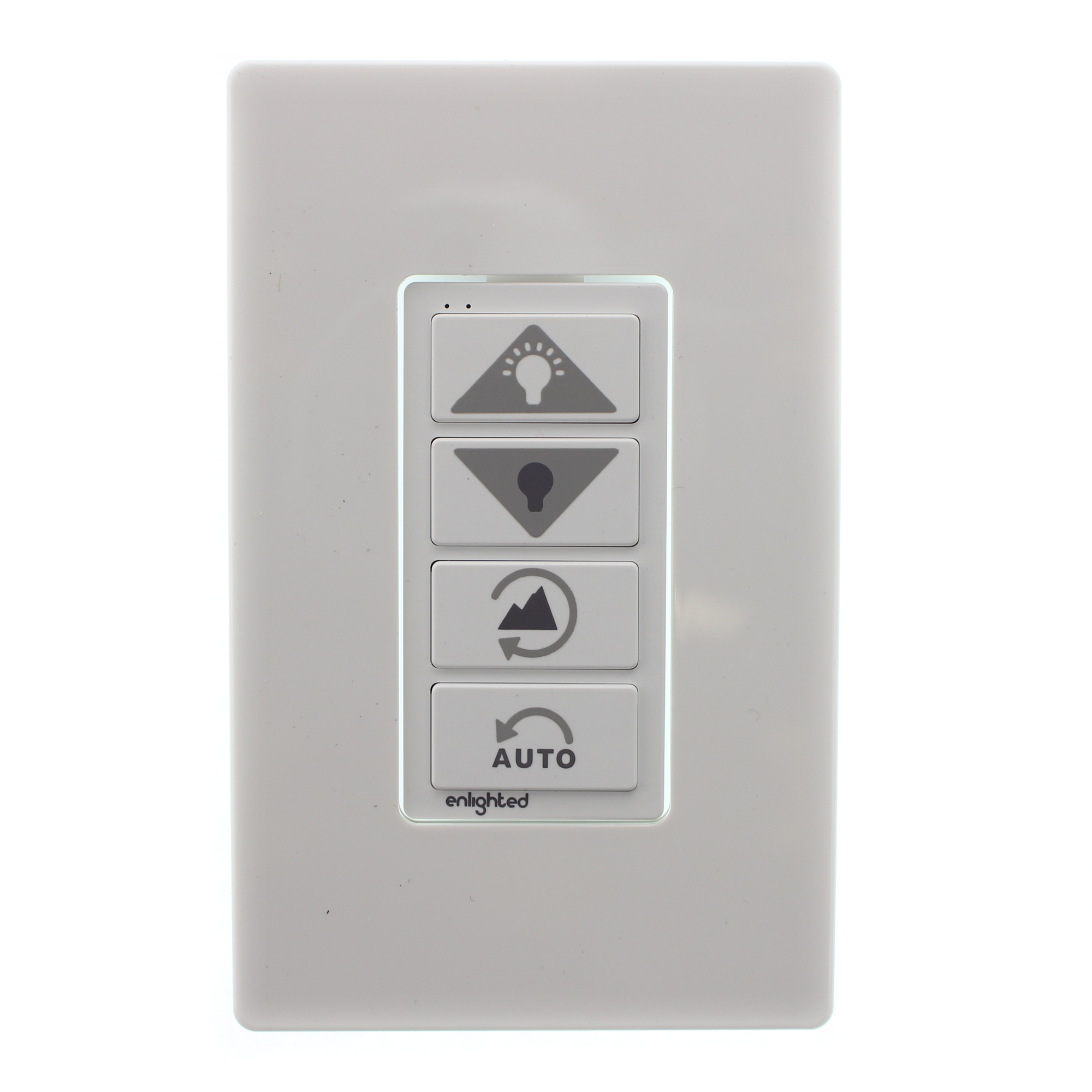 ENLIGHTED LIGHTING WS-2-00 WIRELESS LIGHTING CONTROL SWITCH, 4 ...