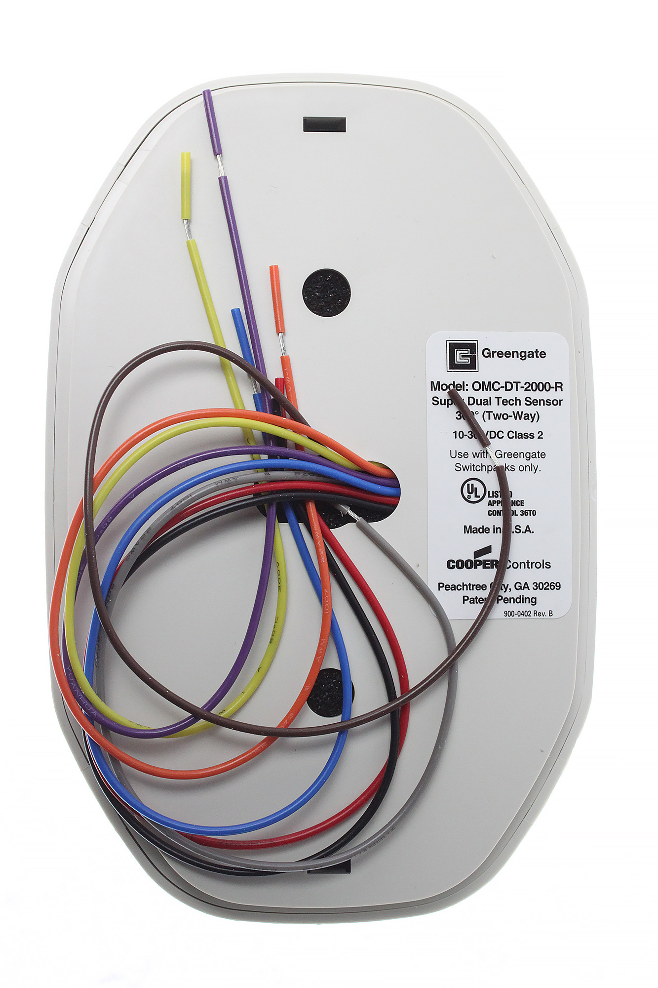 Greengate omc dt 2000 r dual tech ceiling occupancy sensor wrelay greengate omc dt 2000 r dual tech ceiling sciox Image collections