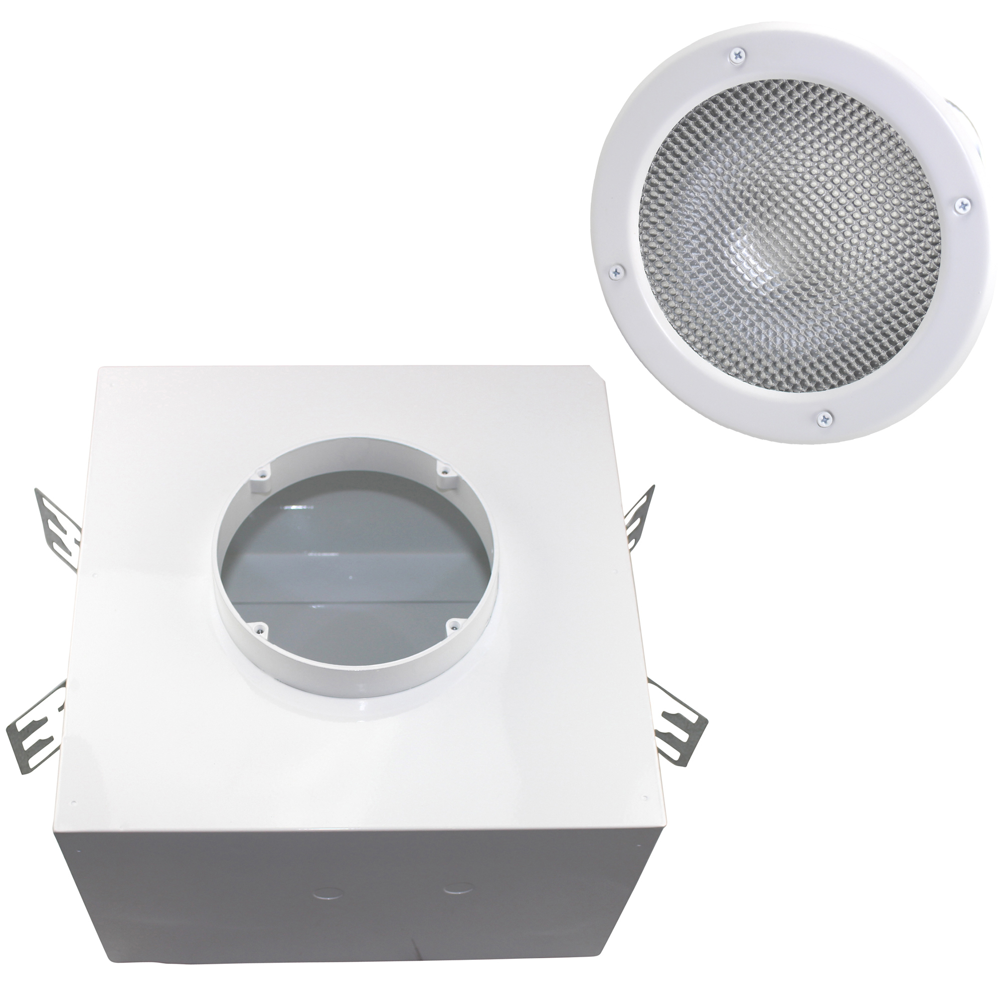 This Auction is for 1 KENALL LIGHTING RHA6VF + HADL6VF 6  MILLENIUM DOWNLIGHT RECESSED LIGHTING KIT  sc 1 st  eBay & KENALL LIGHTING RHA6VF + HADL6VF 6