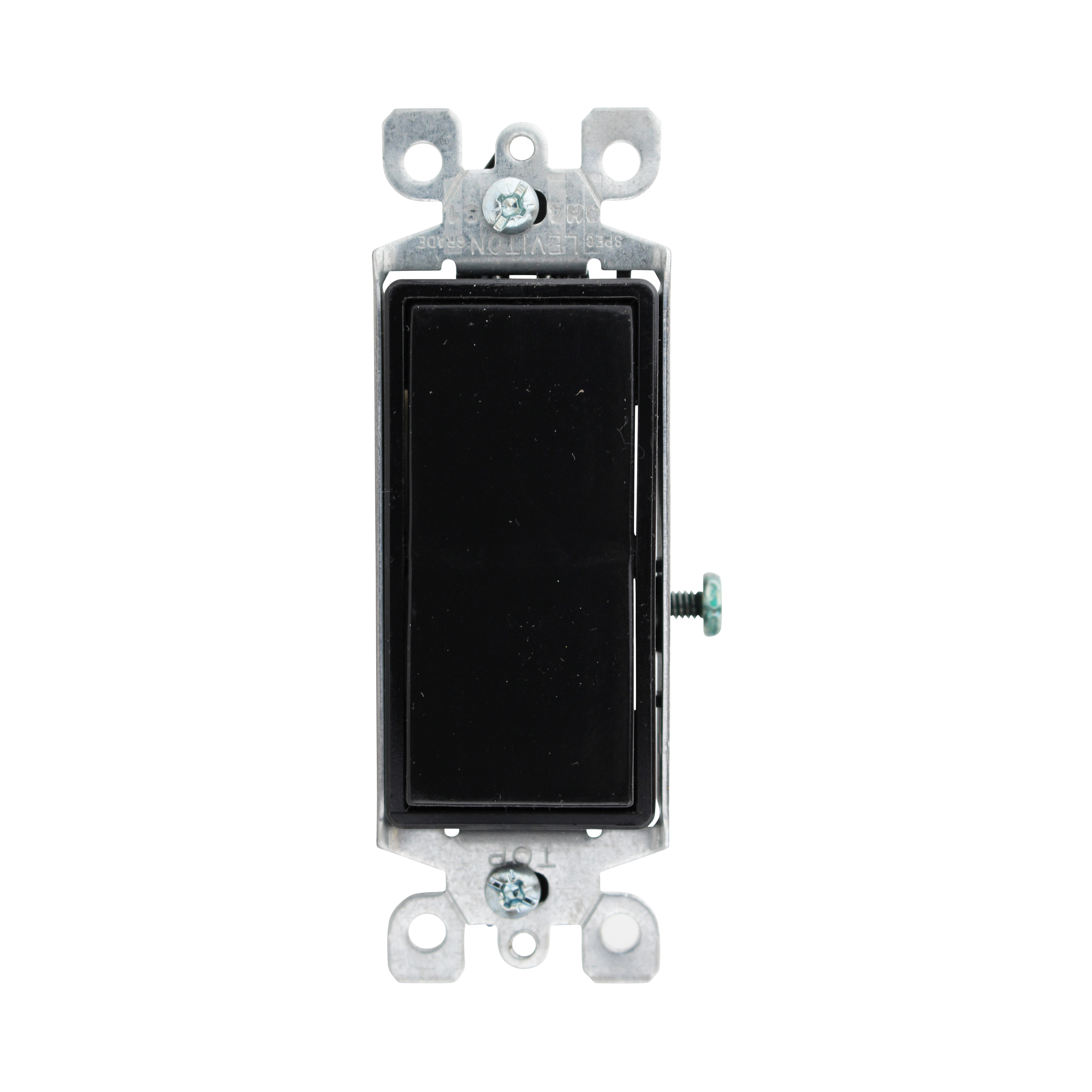 Leviton 15a Black 05601-2e Decora Switch 277v Light 120   eBay