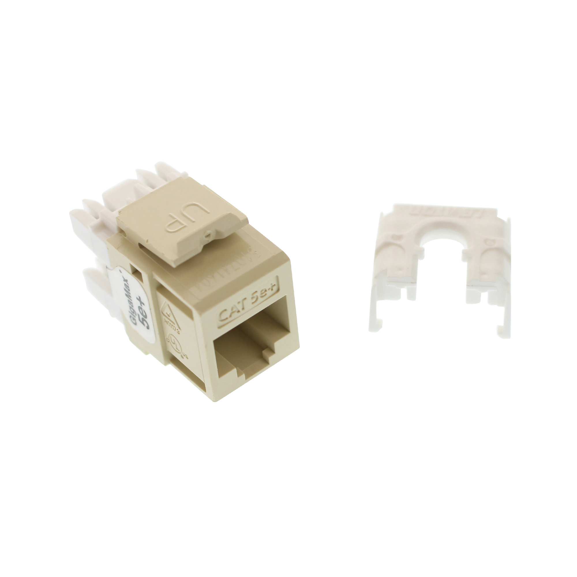 THIS AUCTION IS FOR 1 LEVITON 5G110 RI5 GIGAMAX 5E QIUCKPORT CONNECTOR CAT5E JACK