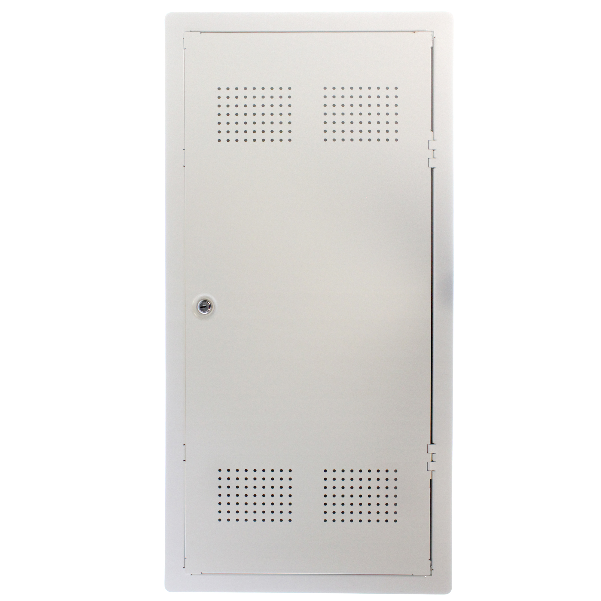 LEVITON STRUCTURED MEDIA ENCLSOURE DOOR, 32-INCH, VENTED, LOCKING ...