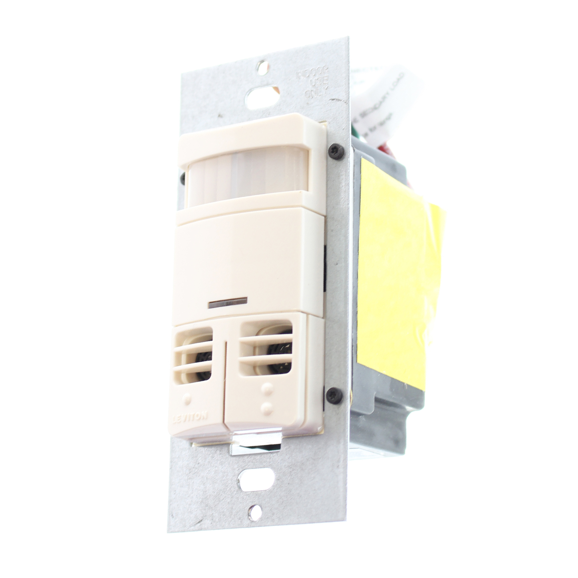 Leviton Ossmd-mdt Dual-relay Multi-technology Wall Switch Sensor ...