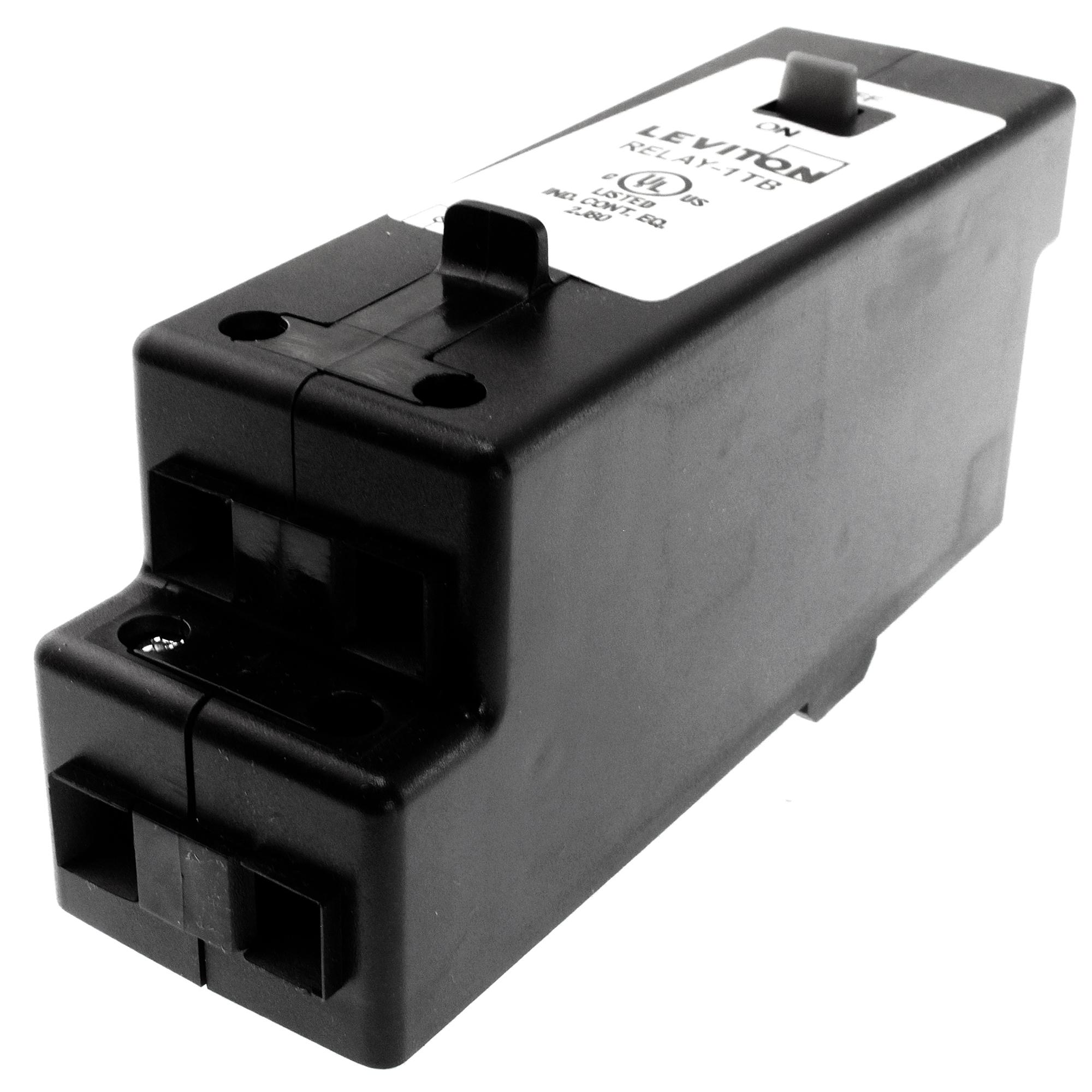 LEVITON RELAY-1TB GREENMAX 1-POLE BASIC LIGHTING CONTROL RELAY ...