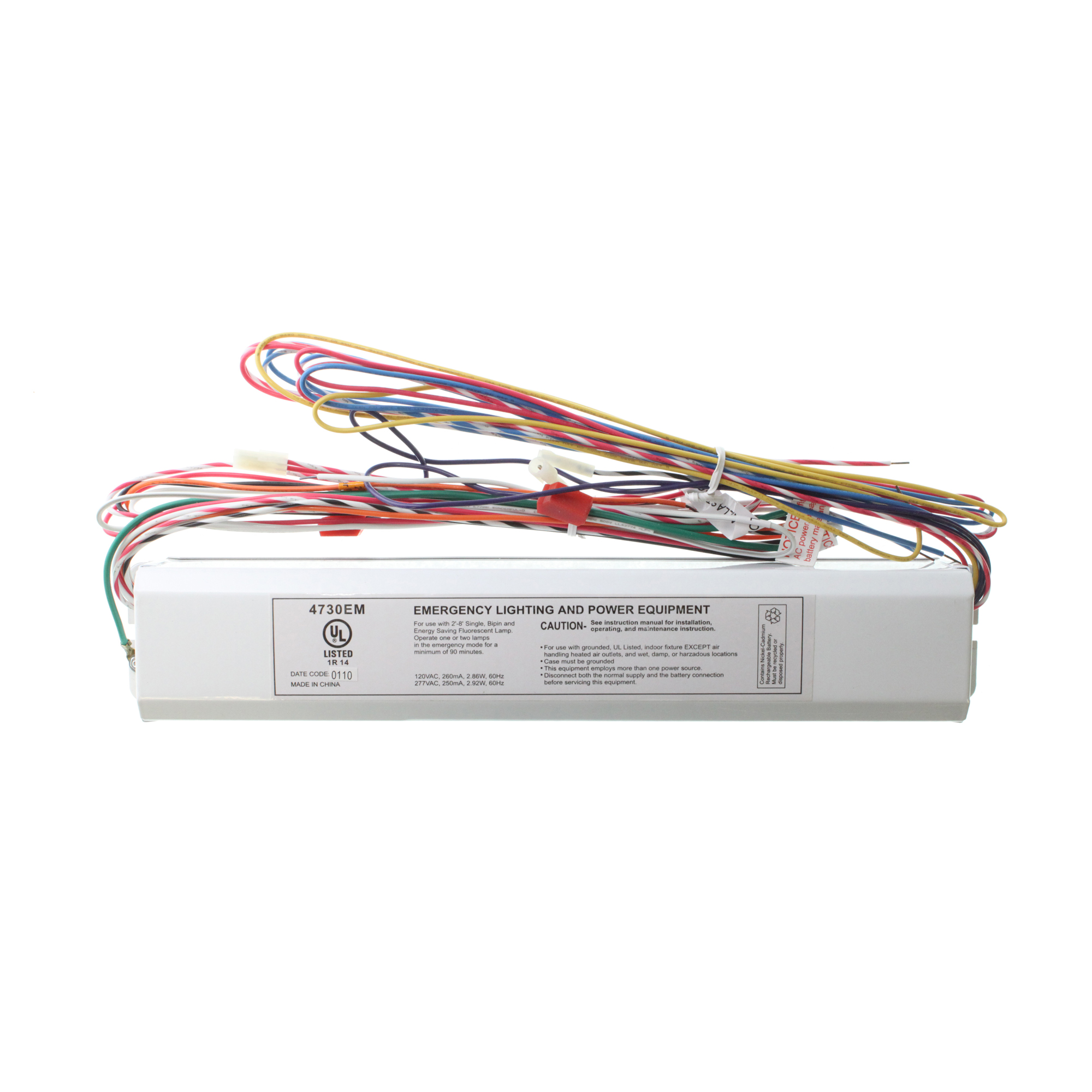 Image Is Loading ROYAL PACIFIC  4730EM EMERGENCY ELECTRONIC BALLAST BATTERY PACK