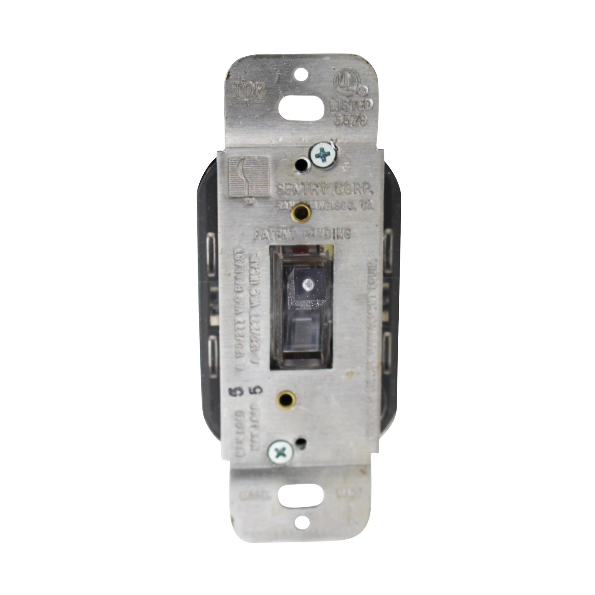 SENTRY SWITCH SS-053277 3-WAY WALL TOGGLE SWITCH, MULTI-VOLTAGE ...