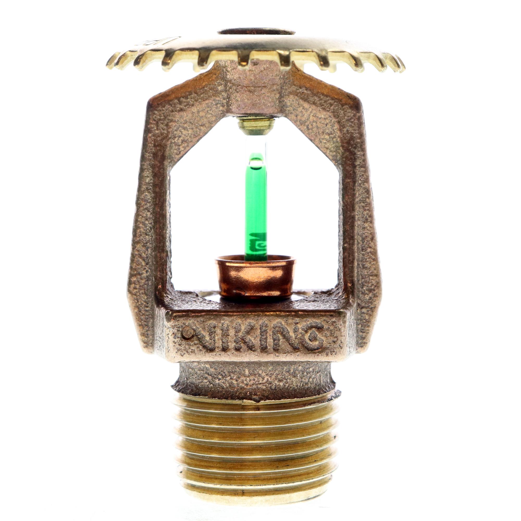 Viking 06661bae model m vk300 brass fire sprinkler 1 2 for Fire sprinkler system cost calculator