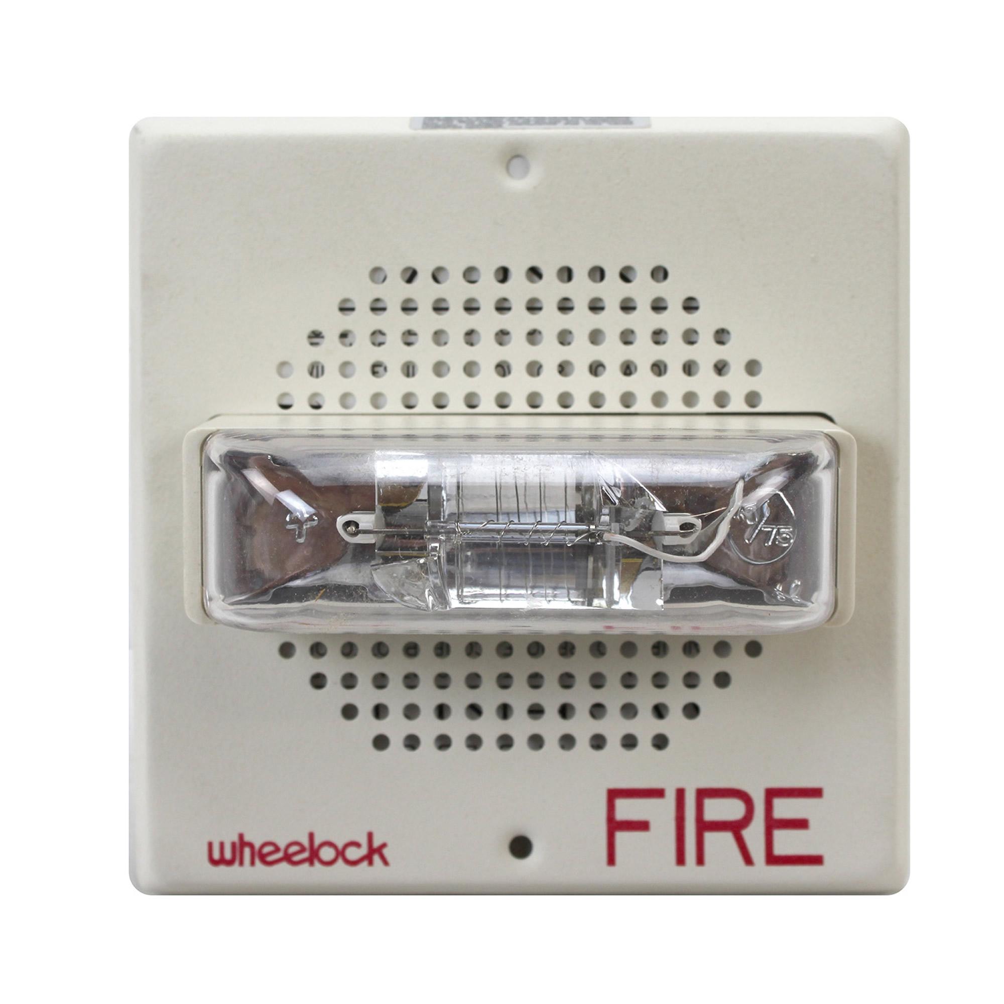 Wheelock E-70-Is-24-Vfr 24Vdc Fire Alarm Speaker Strobe ...  |Wheelock Fire Alarm Horn Strobe