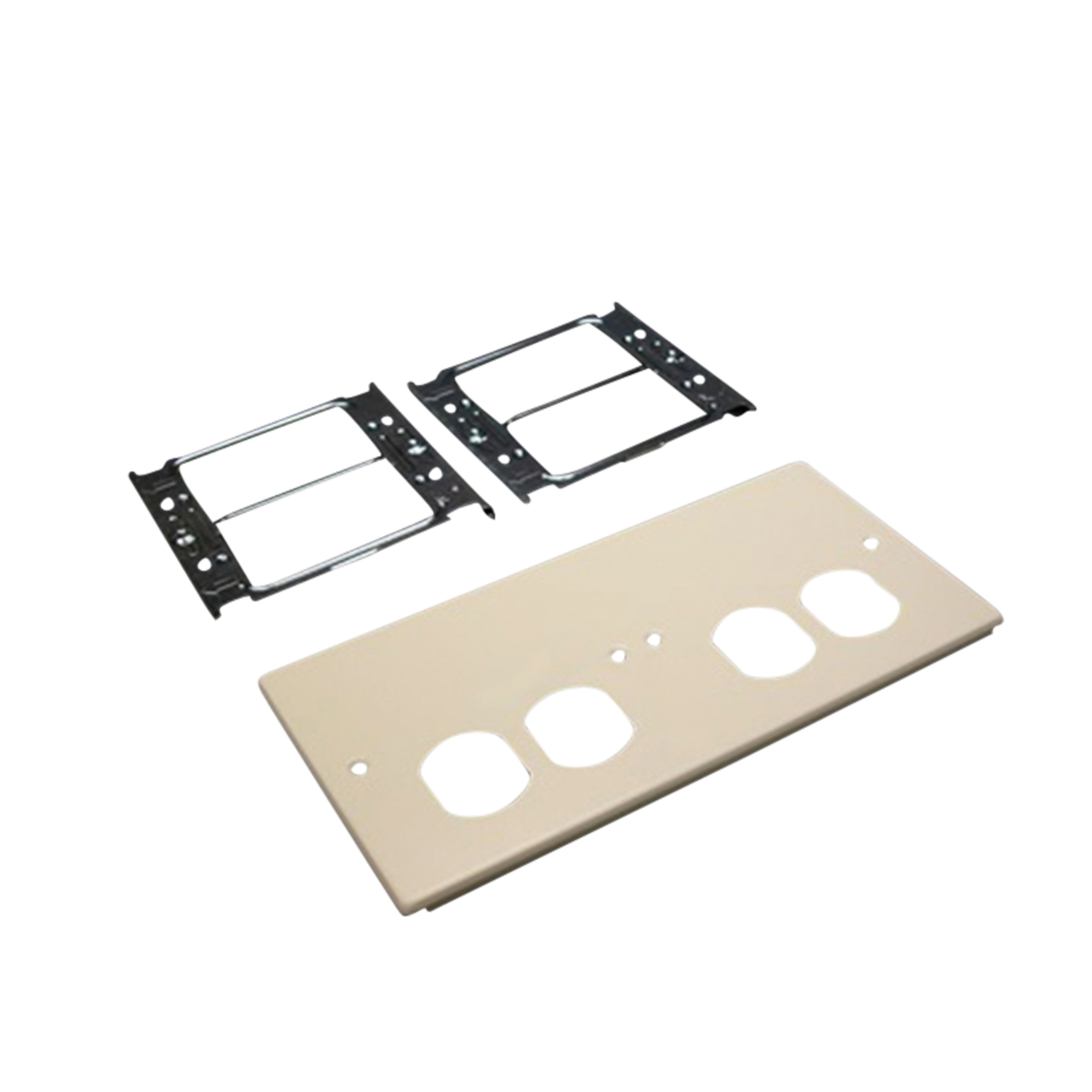 WIREMOLD LEGRAND G4047-2BBXX 4-GANG OVERLAPPING COVER PLATE, 4000 ...