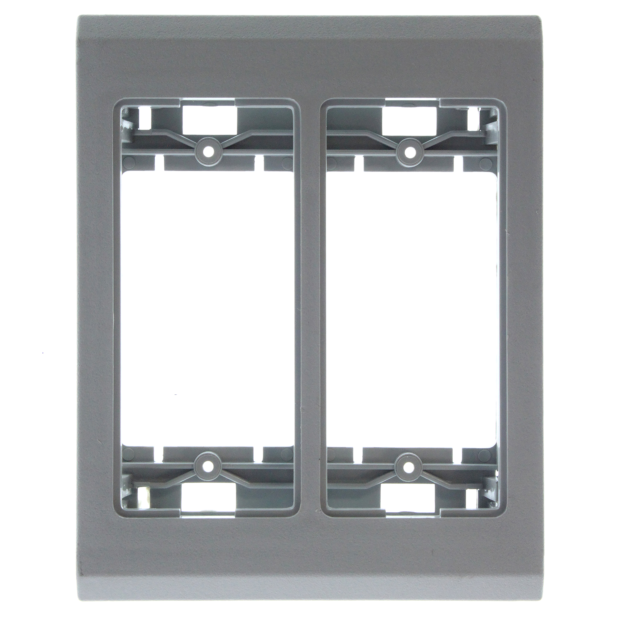 Details about WIREMOLD LEGRAND G4049 GRAY NON-METALLIC DEVICE PLATE F4, GRAY