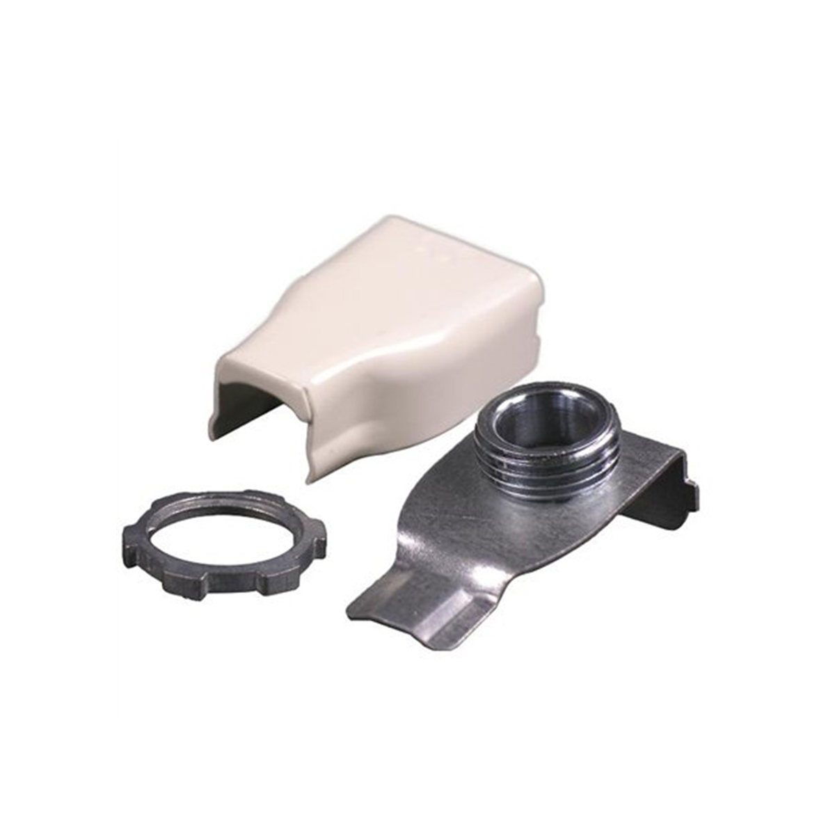 WIREMOLD LEGRAND V5783 RACEWAY MALE ELBOW BOX CONNECTOR STEEL, IVORY ...