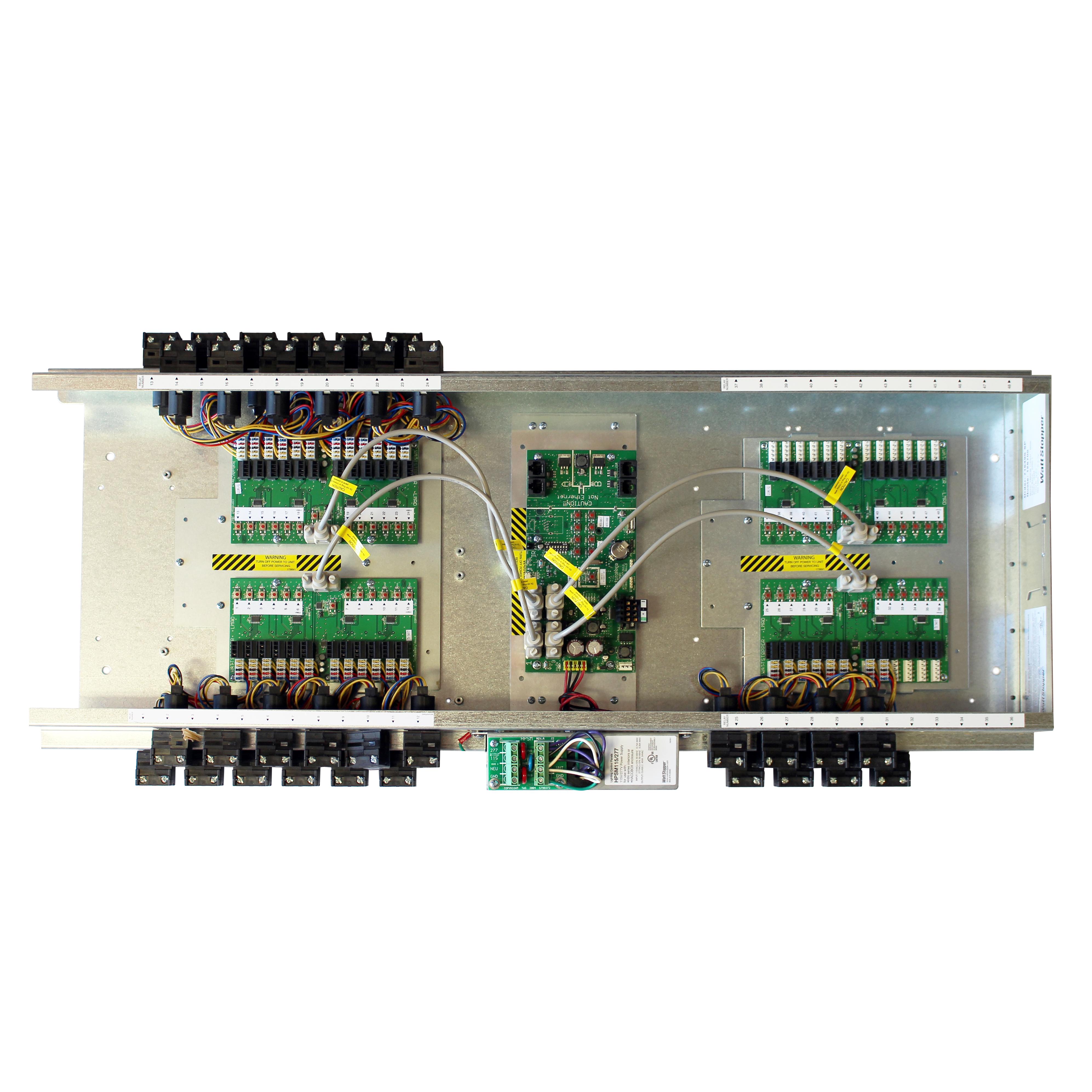 Wattstopper Lmcp48 Lighting Relay Control Panel Interior 48 Dlm 120v