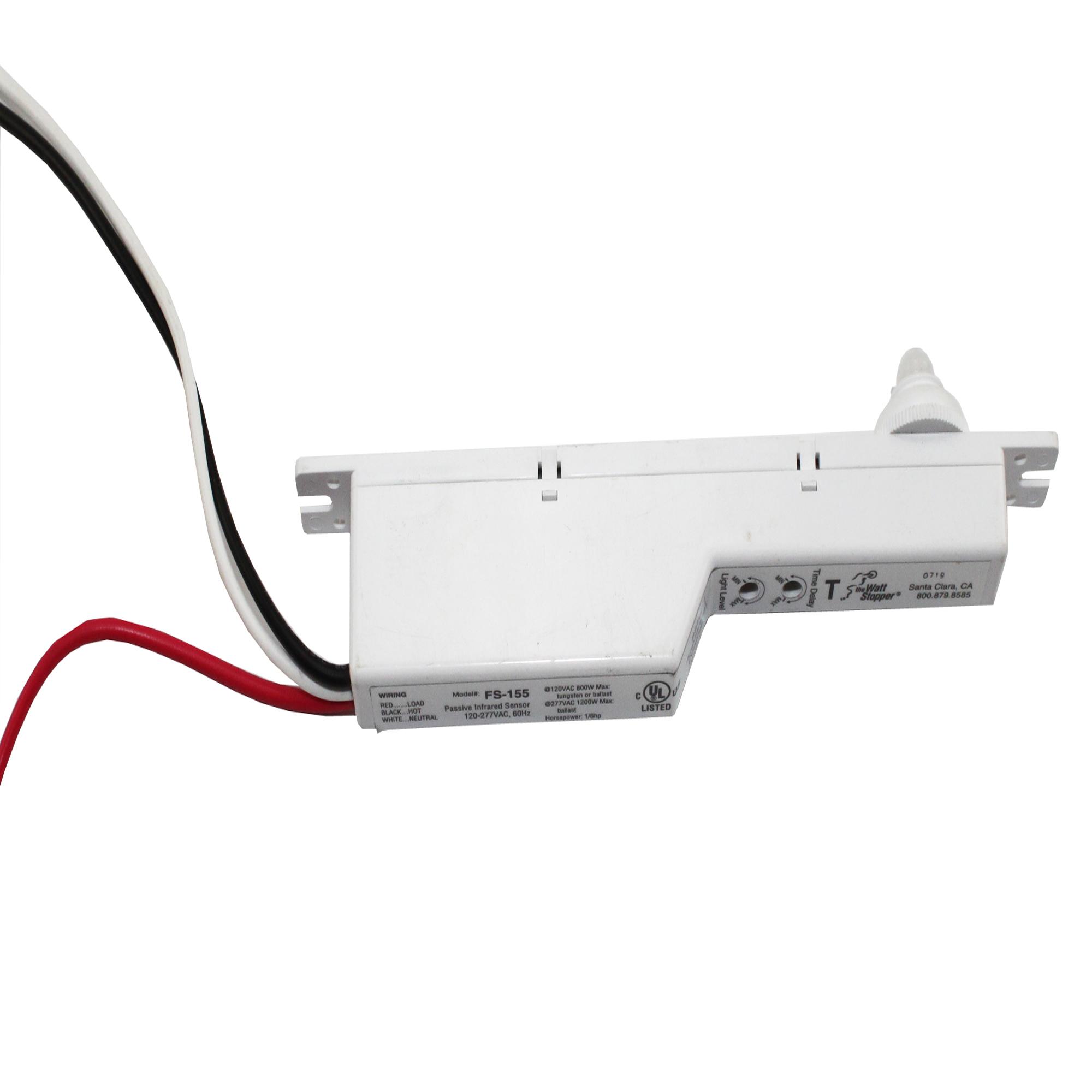 WATT STOPPER FS-155 LINE VOLTAGE PIR FIXTURE INTEGRATED OCCUPANCY SENSOR - $39.99